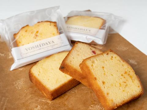 パウンドケーキ(ブランデー、オランジェ、フルーツ)